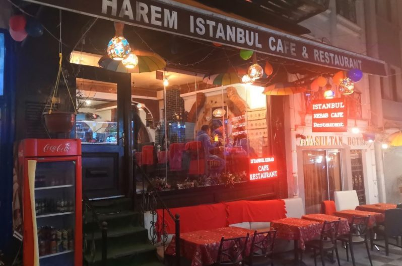 Restaurante en Estambul